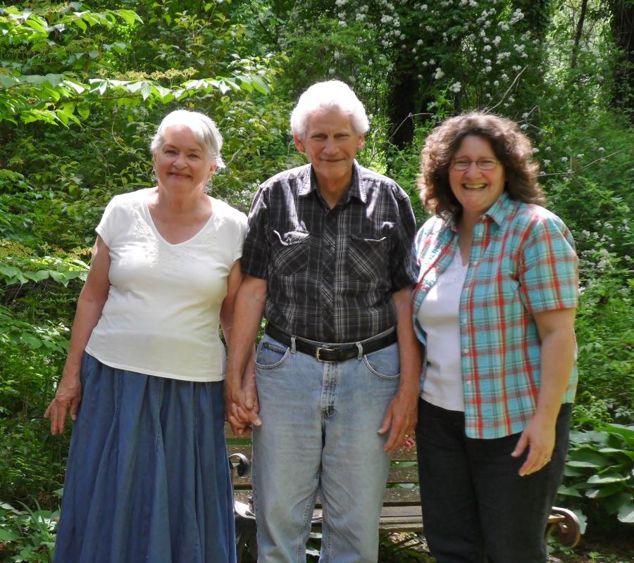 Mom & Dad & Susan Happy