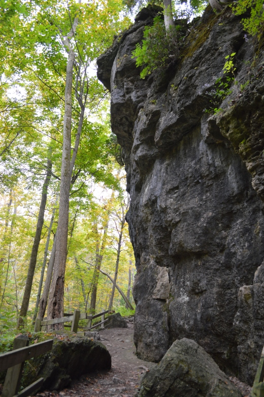 Yellow Springs Cliff Trail Bend