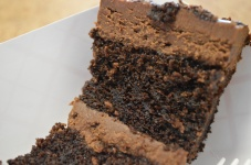 DH Athens GREEK Chocolate Cake Detail