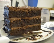 DH Athens GREEK Chocolate Cake Slice